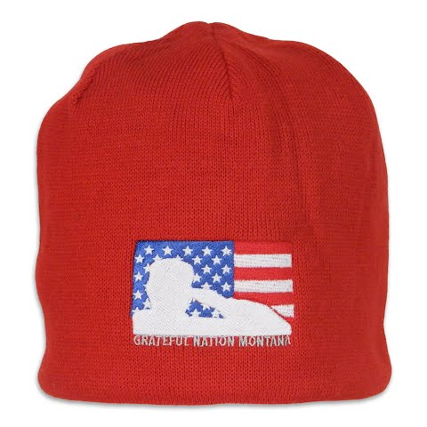 Product image of Spyder Grateful Nation Montana Beanie - Red