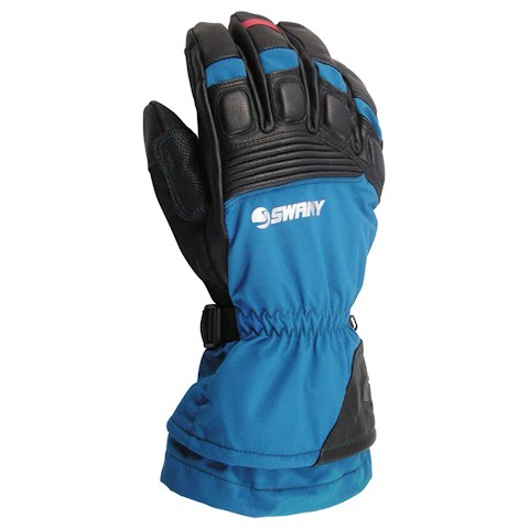 Image of Swany Mens A - Star Gloves - Blue / Black