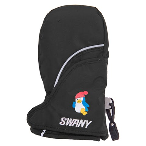 Swany Youth Toddler Zap Mitten - Black