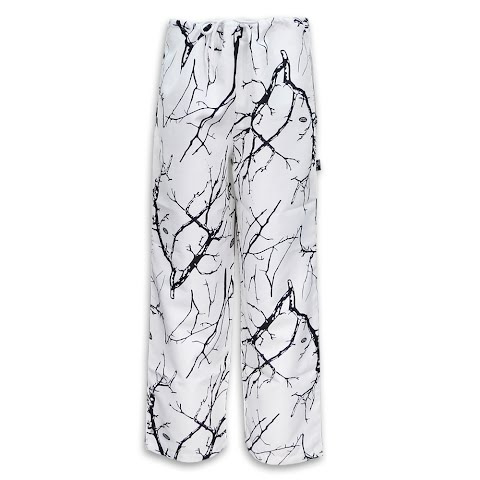 Trail Crest Mens Unlined Cover Up Pants – Snow Camo