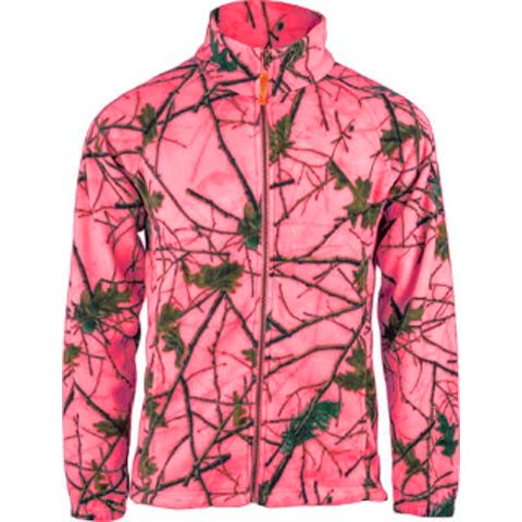 Product image of Trail Crest Youth Chambliss Semi - Fitted Jacket - Blazing Pink Forest