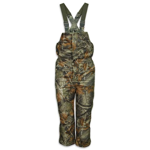 Trail Crest Youth Insulated Camo Bibs – Highland Timber