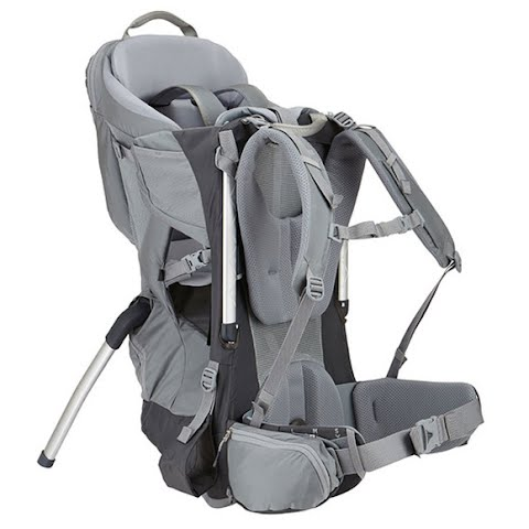 Product image of Thule Sapling Child Carrier - Dark Shadow / Slate