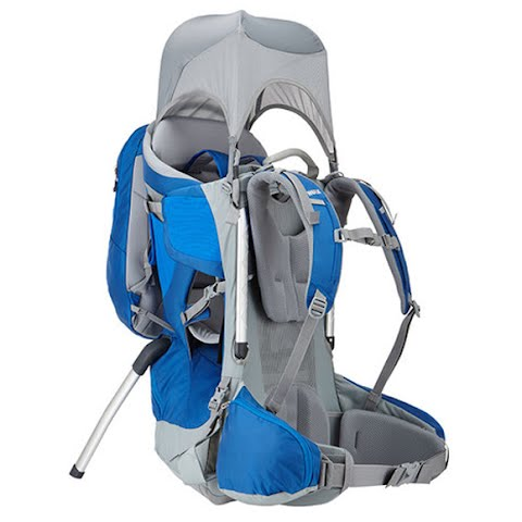 Product image of Thule Sapling Elite Child Carrier - Slate / Colbalt