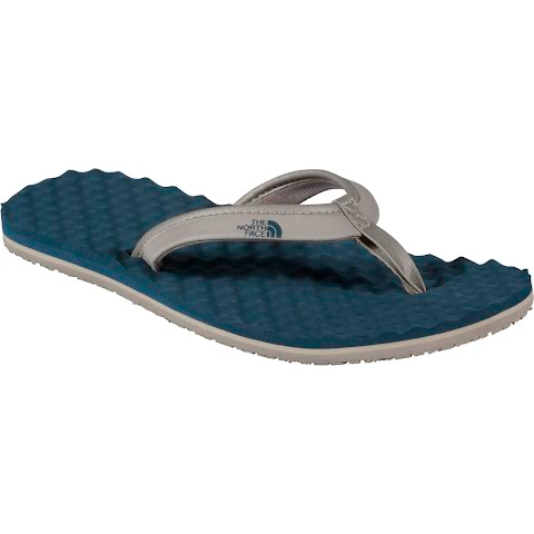 The North Face Womens Base Camp Mini Flip Flop - Atmosphere Grey / Indian Teal Blue