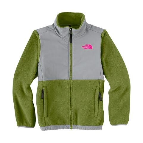 The North Face Girls Youth Denali Jacket - Grip Green
