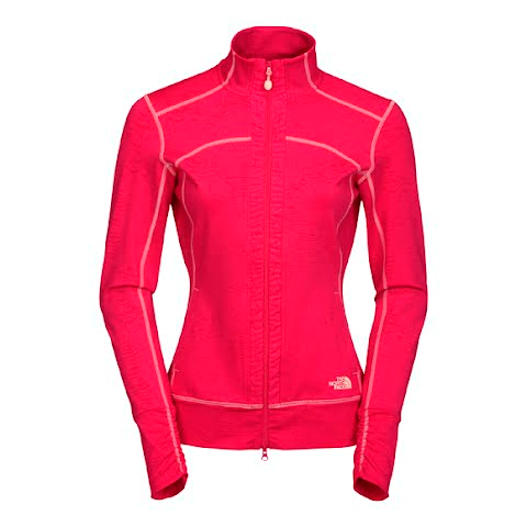 Product image of The North Face Women ' S Tadasana Vpr Rose Full Zip Printed - Pippi Pink