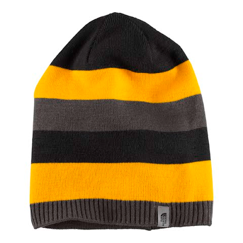 Product image of The North Face Youth Reversible Leavenworth Beanie - Graphite Grey