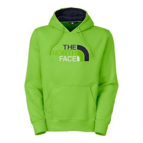 Product image of The North Face Men's Half Dome Hoodie - Vibrant Green
