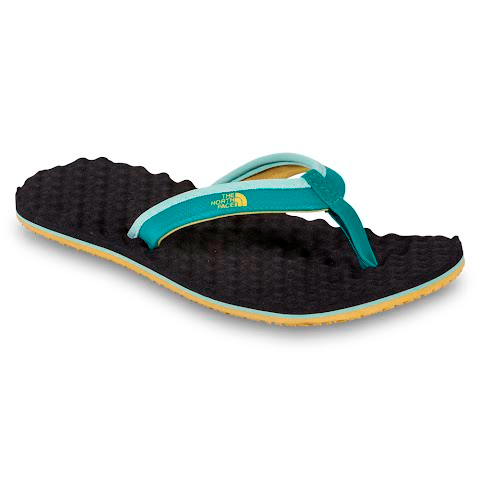 Product image of The North Face Womens Base Camp Mini Flip Flop - Jaiden Green / Sulph