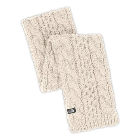 Product image of The North Face Cable Minna Scarf - Vintage White