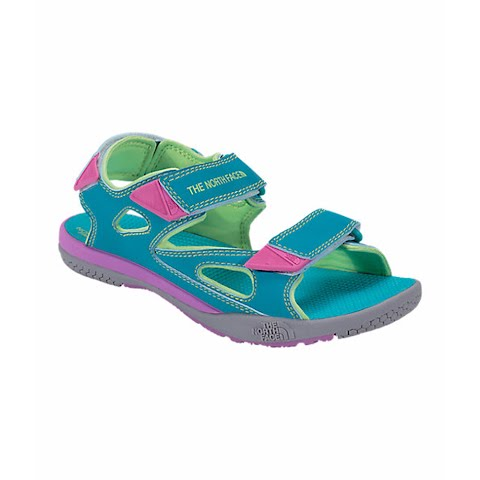 Product image of The North Face Youth Jr Base Camp Coast Ridge Sandals - Bluebird / Budding Green