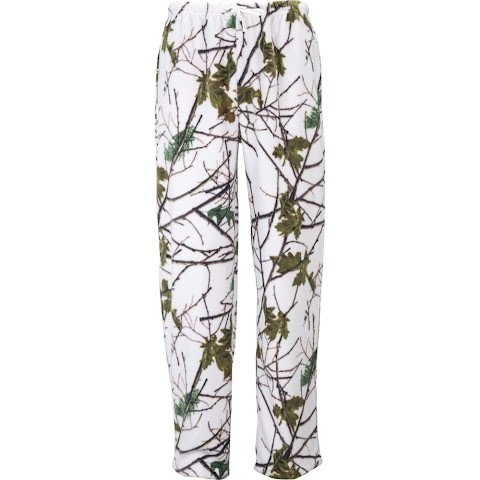 Product image of Trail Crest Women ' S Snow Forest Camo Daysor Lounge Pajama Bottom - Snow Camo