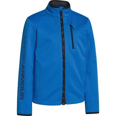 Under Armour Mountain Boy ' S Youth Ua Storm Coldgear Infrared Softershell Jacket - Electric Blue
