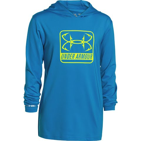 Product image of Under Armour Boy's Youth Iso Chill Element Hoodie - Pool