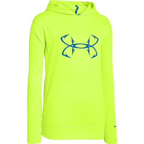 Product image of Under Armour Boy's Youth Storm Fish Hook Hoodie - Fuel Green
