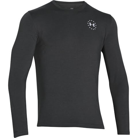 Product image of Under Armour Men ' S Wwp Freedom Flag Long Sleeve T Shirt - Carbon Heather