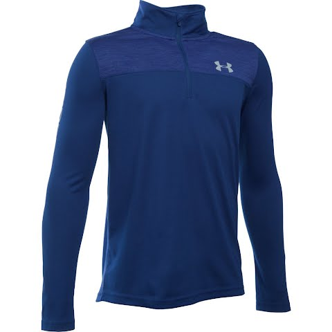 Product image of Under Armour Boy's Youth Tech 1 / 4 Zip - Caspian