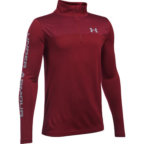 Product image of Under Armour Boy ' S Youth Tech 1 / 4 Zip - Cardinal