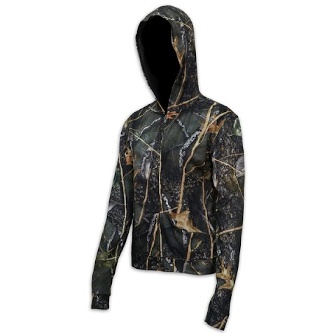 World Famous Womens Camouflage Hoodie – Burly Camo