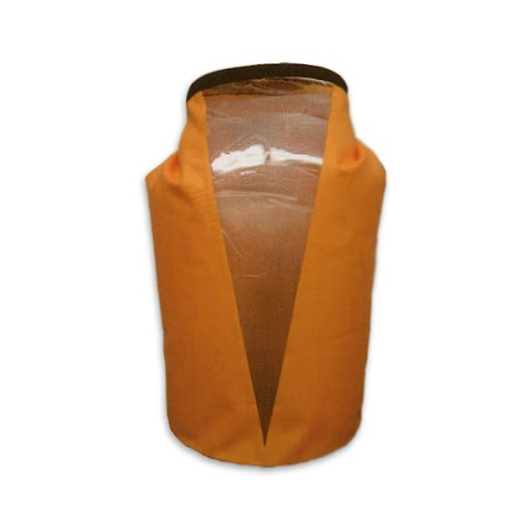 Product image of World Famous 15l Tpu Dry Bag With Window - Orange