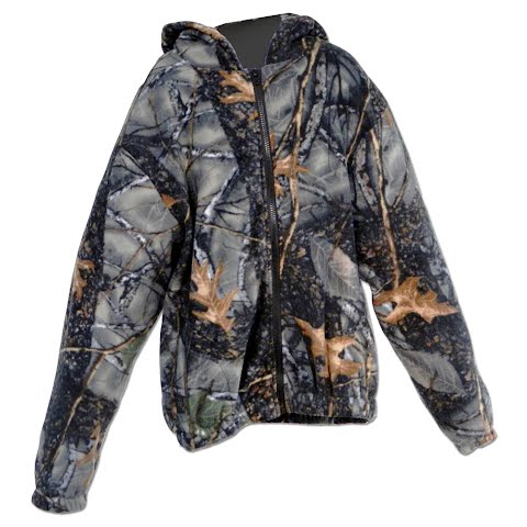 World Famous Youth Preschool Fleece Hoody – Burly Camo