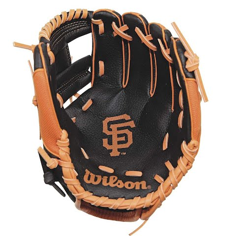 Product image of Wilson Youth A200 Mlb Team 10 Inch Tee Ball Glove - San Francisco Giants