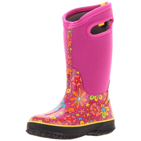 Bogs Youth Girls Classic Crazy Daisy