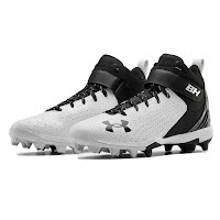 Under Armour Men's UA Harper 5 Mid RM Baseball Cleats Image