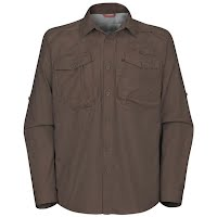 The North Face Mens Pollock Woven Long Sleeve Shirt Image