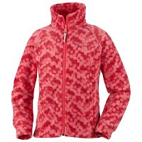Columbia Youth Girls Benton Springs Printed Fleece Image