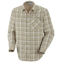 Columbia Mens BugShield Plaid Long Sleeve Shirt Image