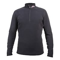 Hot Chillys Mens La Montana Mountain Weight Panel Zip T Image