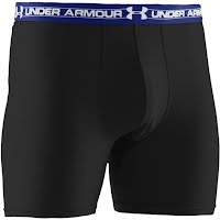 Under Armour Mens UA Mesh 6 Inch Boxerjock Boxer Briefs Image