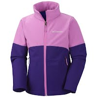 Columbia Girl`s Youth Brookview Softshell Jacket Image