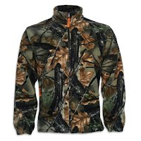 Trail Crest Mens Chambliss Camo Fleece Jacket Image