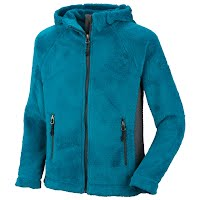 Columbia Girl`s Youth Pearl Plush Hoodie Image