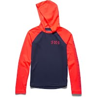 Under Armour Boy`s Youth Waffle Hoodie Image