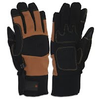 Manzella Men's Racnch Hand TouchTip Gloves Image