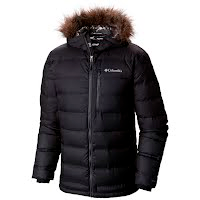 Columbia Men`s North Protection Hooded Down Jacket Image