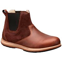 Columbia Men`s Davenport Chelsea Pull On Leather Boot Image