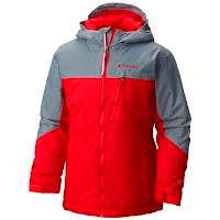 Columbia Boy`s Youth Double Grab Insulated Hooded Jacket Image