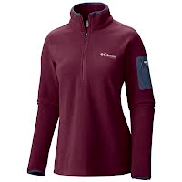 Columbia Women's Titan Pass 1.0 1/2 Zip Fleece Jacket Image