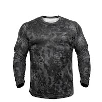 Kryptek Apparel Men's Hyperion Long Sleeve Crew Extended Sizes Image