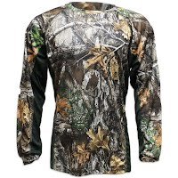 Pursuit Gear Men's Stalker Long Sleeve Camo Tech Tee Image