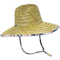 Chaos Men's Andy Wide Brim Straw Hat Image