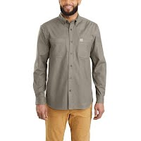 Carhartt M Rugged Flex Hamilton L/S Shirt EXT-Sizes Image