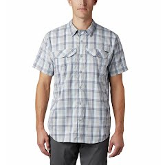 Columbia Men's Silver Ridge Lite Plaid Short Sleeve- Tall Image