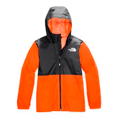 The North Face Youth Zipline Rain Jacket Image