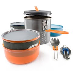 Gsi Outdoors Pinnacle Dualist II, Two-person Cookset Image